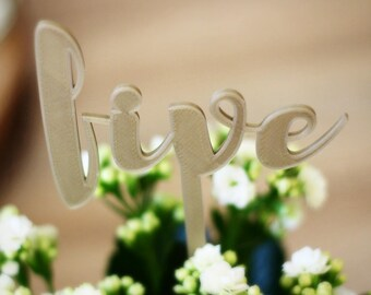 Customisable Wedding Table Numbers
