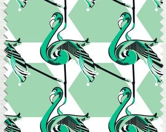 Fabric in Elle Mingo Pattern Mint color