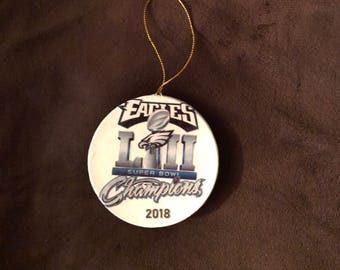 Eagles Super Bowl ornament