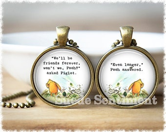 Best Friend Gift • Friendship Jewelry • Gifts For Friends • Long Distance Friendship • Necklace Set of 2