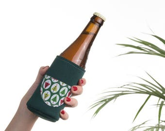HOLLY JOLLY | beer & small bottle thermical holder