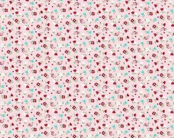 20% OFF Riley Blake Designs A Little Sweetness By Tasha Noel Floral Pink