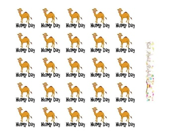 Hump Day Wordy Icons WI0026