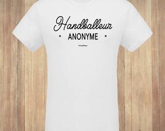 "T-shirt ""Anonymous living"" man"