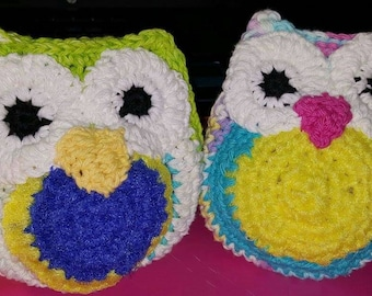 Owl Dishcloth and scrubbing in one. 10 for 1 or 15 for 2