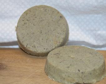 Facial Soap, Green Tea, Matcha, Himalayan Salt, and Activated Charcoal