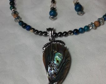 Abalone Apple Necklace