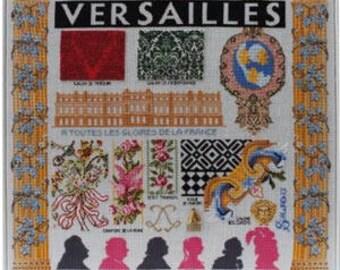 Cross stitch pattern kit - Versailles château