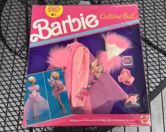 Barbie Costume Ball Clothing New In Box