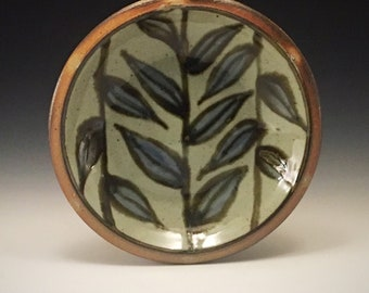 Wood-fired Stoneware Pie Plate