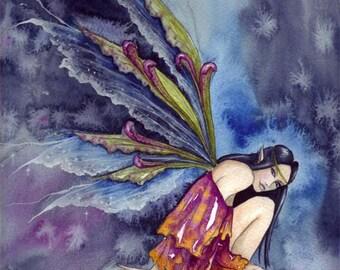 Original Watercolour Painting ~ Stormwatcher