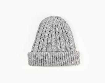 Baby, kids and adults merino and silk knit hat | 6 colours available