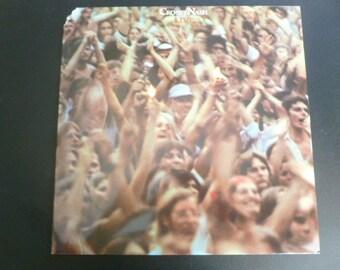 Crosby Nash Live Vinyl Record LP AA-1042 ABC Records 1977