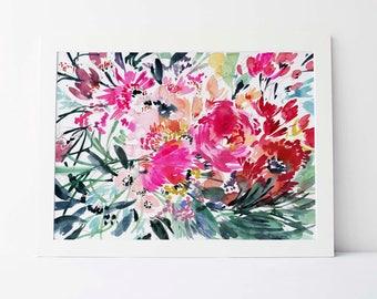 Rainbow Garden - Fine Art Print