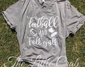 Football & Fall, Ya'll Tee
