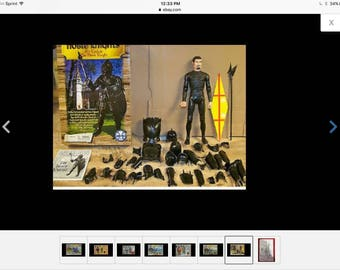 Marx Reissue Black Knight with Accessories no box