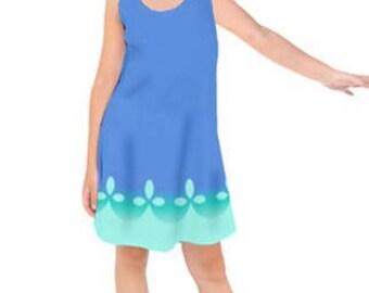 Trolls V2 - Poppy Dress - Halloween Outfit- Girl Dress - Poppy Dress - Princess Poppy Costume - Trolls Costume - trolls birthday outfit