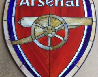 ARSENAL SOCCER TEAM                     Size W 15 1/2 x H 19''