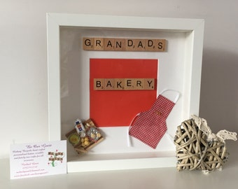 Personalised Bakery baking cooking cook frame Mother's Day gift