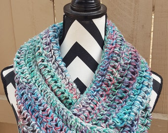 Ready to Ship Turquoise Sky Infinity Scarf