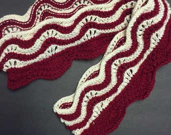 Bacon Scarf Knit