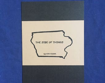 """Iowa Comic - """"The Size of Things""""-  5""""x6.5"""" Prints - 6 Pages"""