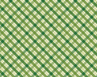 SALE The Great Outdoors Plaid Green - Riley Blake Designs - Quilting Cotton Fabric - choose your cut