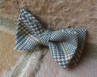 boys bow ties,kids bow tie,flannel bow tie,fall bow ties for boys,plaid bow tie,tan plaid bow tie