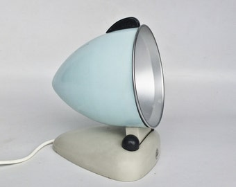 Vintage Sun Lamp / Infra Red UV Light / Heat Lamp / RR / 50's Yugoslavia / Blue