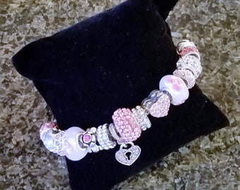 Pandora style jewelry at Bargain Bling prices. Handcrafted by Anita.