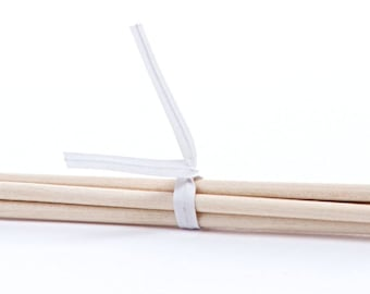 White Paper Twist Ties - Pack of 100 (pm241010)