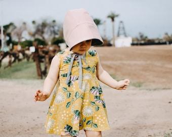 Tank Peplum - Tank Shirt - Organic Baby Clothing - Twirl Skirt - Spring Clothing - Girls Circle Shirt - Baby Tunic Shirt - Tank Shirt