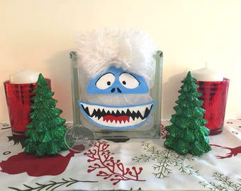 Bumble the Abominable Snowman Glass Light Block