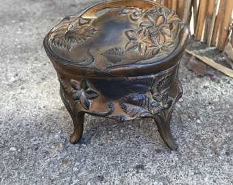 Antique trinket ring box