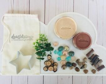 Nature Treasure Play Dough Kit