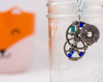 Silver Steampunk pendant