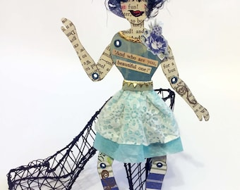 Expressive Paper Doll - Beautiful One