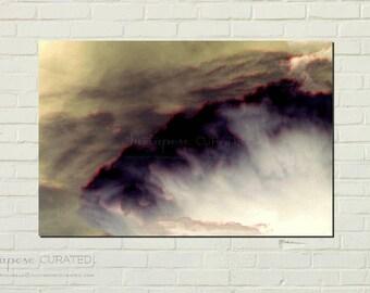 TITANS FURY - abstract art, fantasy art, storm art, contemporary art, modern art, ocean art, fine art, contemporary painting, art print