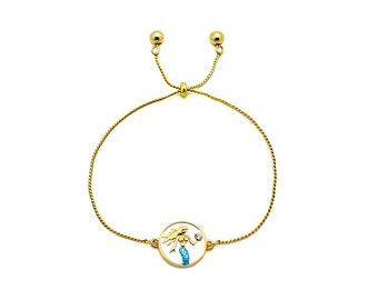 Bolo Bracelet Mermaid
