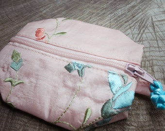Floral Coin Purse ~1 pieces #100651