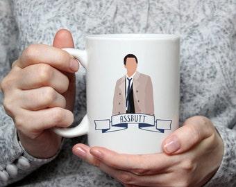 Assbutt   Castiel   Cas   Supernatural   Angel   Coffee Mug