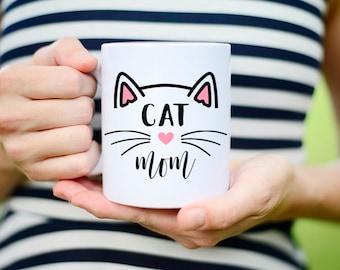 Cat Mom Coffee Mug, Cat Mom Cup, Cat Mom Mug, Coffee Mug for Cat Mom, Mug for Cat Mom, Cat Mama Mug, Cat Mama Coffee Mug, Cat Lovers Coffee