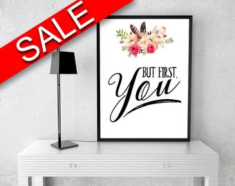 Wall Art But First You Digital Print But First You Poster Art But First You Wall Art Print But First You Typography Art But First You