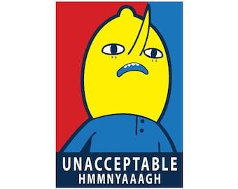 Lemongrab Adventure Time Sticker