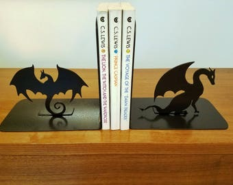 Bookends - Dragons Metal