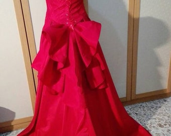 Cosplay Satine Moulin Rouge Red, costume 900