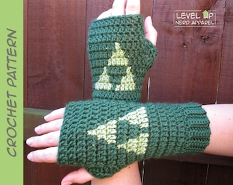 Terforce mitts CROCHET PATTERN || 6 sizes || Instant Download