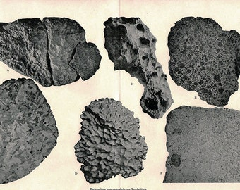 Vintage 1896 Antique METEORITES astronomy constellations -  comet meteor shower chart star