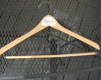 Great 1940s-50s High-end Wood Suit Hanger