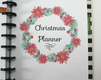 Create 365 Classic Happy Planner Christmas Planner Extention Pack, Christmas Organizer, Christmas Planner Insert, Happy Planner Inserts